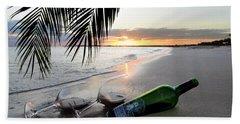 Lost In Paradise Beach Sheet by Jon Neidert