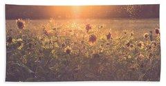Summer Evening Beach Towel by Chris Fletcher