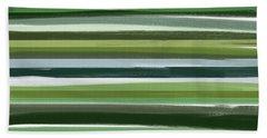 Summer Of Green Beach Sheet by Lourry Legarde