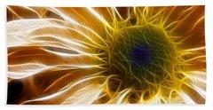 Supernova Beach Sheet by Adam Romanowicz