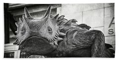 Tcu Horned Frog 2014 Beach Towel by Joan Carroll