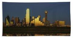 Texas Gold Beach Towel by Rick Berk