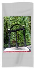 The Arch At Uga Beach Towel by Katie Phillips
