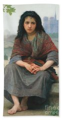 The Bohemian Beach Sheet by William Adolphe Bouguereau