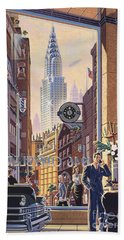 The Chrysler Beach Towel by Michael Young
