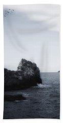 The Lighthouse Beach Sheet by Joana Kruse