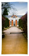The Path To The Orangery Beach Towel by Christi Kraft