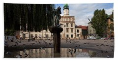 The Renaissance Town Hall And Central Beach Towel by Panoramic Images