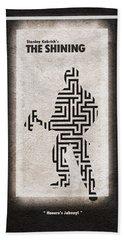 The Shining Beach Towel by Ayse Deniz