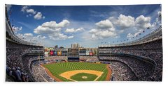The Stadium Beach Towel by Rick Berk
