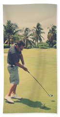 The Swing Of Things Beach Towel by Laurie Search