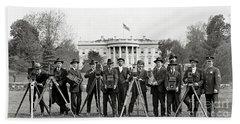 The White House Photographers Beach Sheet by Jon Neidert