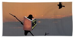 To Kill A Mockingbird Beach Towel by Bill Cannon