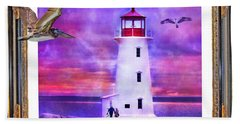 Together Beach Towel by Betsy Knapp