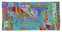 Topographic Albatross Beach Sheet by Tim Allen
