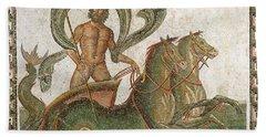 Triumph Of Neptune Beach Towel by Roman School