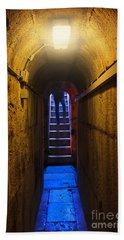 Tunnel Exit Beach Towel by Carlos Caetano