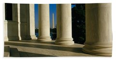 Usa, District Of Columbia, Jefferson Beach Towel by Panoramic Images