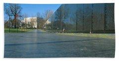 Vietnam Veterans Memorial, Washington Dc Beach Towel by Panoramic Images