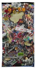 Wage Peace Beach Towel by Doug LaRue