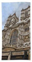 Westminster Abbey Beach Towel by Nancy Ingersoll