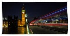 Westminster Beach Towel by Martin Newman