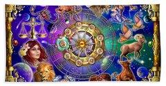 Zodiac Beach Sheet by Ciro Marchetti