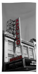 Apollo Theater In Harlem New York No.2 Beach Towel by Ms Judi
