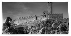 Bellinzona Switzerland Castelgrande Beach Towel by Joana Kruse