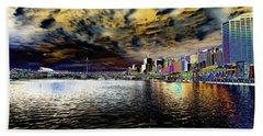 City Of Color Beach Sheet by Douglas Barnard