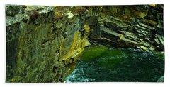 Colored Rocks  Beach Sheet by Jeff Swan