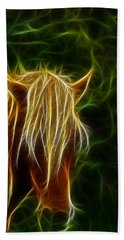 Fantasy Horse Beach Towel by Paul Ward