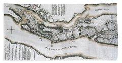 Fort Washington Attacks, 1776 Beach Sheet by Photo Researchers