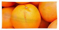 Grapefruit Beach Sheet by Tom Gowanlock