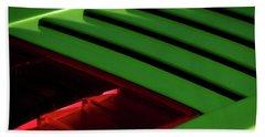Lime Light Beach Towel by Douglas Pittman