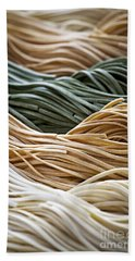 Tagliolini Pasta Beach Towel by Elena Elisseeva