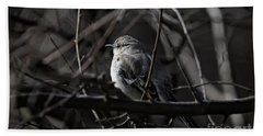 To Kill A Mockingbird Beach Towel by Lois Bryan
