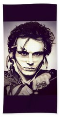 Adam Ant Beach Towel by Fred Larucci