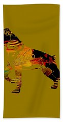 Boxer Collection Beach Towel by Marvin Blaine