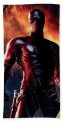 Daredevil Collection Beach Sheet by Marvin Blaine