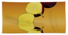 Fresh Ripe Mango Fruits Beach Sheet by David French