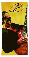 Joe Bonamassa Beach Sheet by Semih Yurdabak