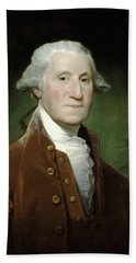 President George Washington  Beach Towel by War Is Hell Store