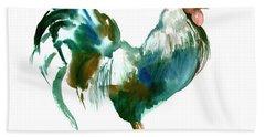 Rooster Beach Towel by Suren Nersisyan