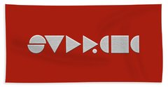 Supreme Being Embroidered Abstract - 2 Of 5 Beach Towel by Serge Averbukh