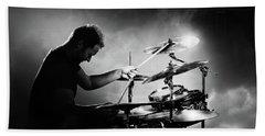 The Drummer Beach Sheet by Johan Swanepoel