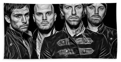 Coldplay Collection Beach Towel by Marvin Blaine