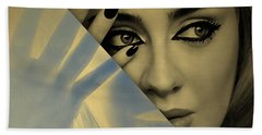 Adele Collection Beach Towel by Marvin Blaine