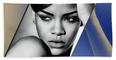 Rihanna Collection Beach Towel by Marvin Blaine