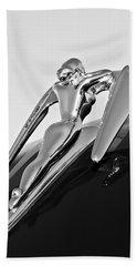 1960 Nash Metropolitan -0854bw Beach Sheet by Jill Reger